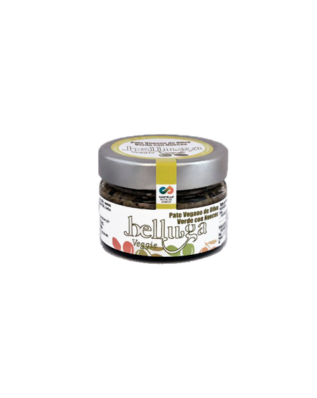 GREEN OLIVE VEGAN TAPENADE WITH WALNUTS